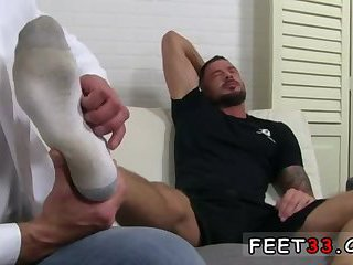 feet,fetish,gays,foot fetish,brunette,muscled,fetish sex,gay Dolf's Foot Doctor Hugh Hunter