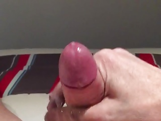 Men (Gay) Wank cum shot