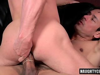 Anal,Tattoo,gay,ass,hardcore,big dick Big dick gay anal sex and cumshot