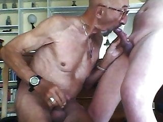 Handjob (Gay);Old+Young (Gay) gaypig