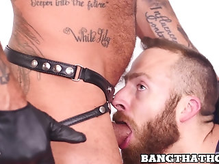 Masturbation,Blowjob,Bareback,gay,hunk,big dick,gay porn,jock,costume,bangthathole,Joel Someone,Jack Dyer Bondage sex session for a hairy daddy and his tiny slave