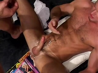 Anal,Threesome,Blowjob,group sex,muscle,gay DETENTION (oral stimulation EXAMS 2)