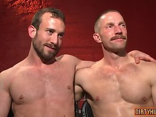 gay,facial,bound Muscle gay bound with facial
