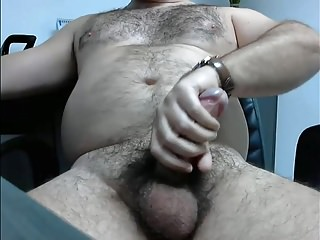 Men (Gay);Bears (Gay);Big Cocks (Gay);Latin (Gay);Masturbation (Gay);HD Gays HAIRY BEAR STUD BIG UNCUT CUMSHOT LATINO HUNK
