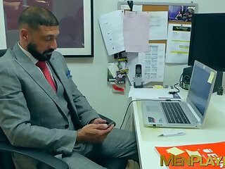 Anal,Masturbation,Big Cock,Rimming,Blowjob,hunk,deep throat,reality,JACKET,MenPlaying,executive,sex at work,gay,HD Office coworkers Diego Reyes and Marco Napoli analbanging