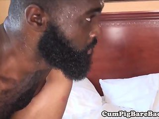 anal,interracial,threesome,oral,anal sex,black,interracial sex, 3some,gay Mature leather bears fuck inked guy in hoist