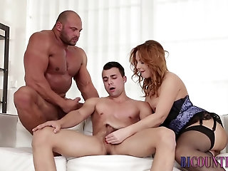 Anal,Cumshot,Masturbation,Solo,Bisexual,Handjob,muscled,gay Bicurious guys shoot cum