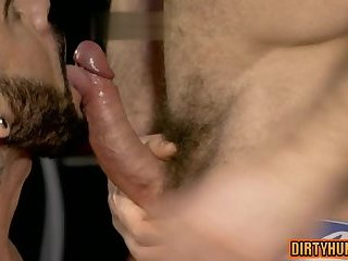 Anal,Hunks,Rimming,Tattoo,gay,muscle Muscle gay oral sex with cumshot