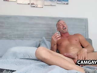Amateur,Masturbation,Solo,webcam,Homemade,Mature,muscle,old,dilf,mature solo,bearded,camboy,gay Matura Bearded Men Jerking Off