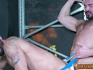 Anal,Mature,gay,spanking,muscle Muscle gay spanking and cumshot