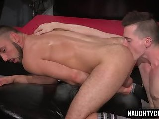 Anal,Dildo,Fetish,Rimming,gay,couple Hot gay fetish and cumshot