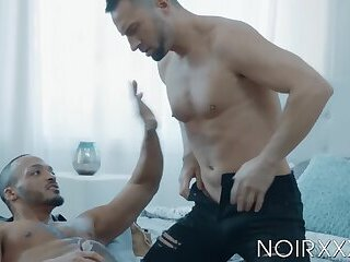 Anal,Cumshot,Interracial,Blowjob,muscle,gay,hardcore,big dick,bbc,Dillon Diaz,NoirXXX,Colby Tucker,HD,Colby Tucker,Dillon Diaz Muscular bottom Colby Tucker gets hot passionate rimming
