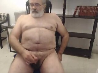 Amateur,Masturbation,Solo,Bears,Homemade,Mature,daddy,gay Daddy cum on cam