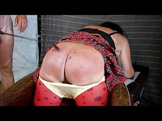 BDSM (Gay);Crossdressers (Gay);Spanking (Gay);Punishment Crossdresser sapnking punishment
