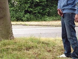 Man (Gay);HD Videos;German (Gay) Sticky sperm in parkplace on highway A3 in Germany