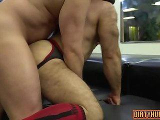 Anal,Bears,Threesome,gay,bear,group sex,muscle,ass fuck Muscle bear anal sex and cumshot