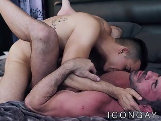 Anal,Big Cock,Mature,Tattoo,Blowjob,hunk,big dick,muscle,gay porn,jock, old-vs-young,hardcore gay,icongay,gay Tattooed muscular hunk offers his ass to young homosexual