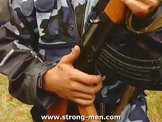 gay Luscious Soldiers Hot Fuck