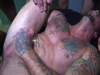 Anal,Cumshot,Big Cock,Bears,Fetish,Gangbang,Party,Blowjob,Bareback,group sex,jocks,daddy,gay filthy pig orgy