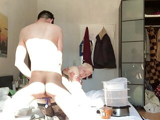 Man (Gay);HD Videos sissy fucked from behind, her first big arab cock