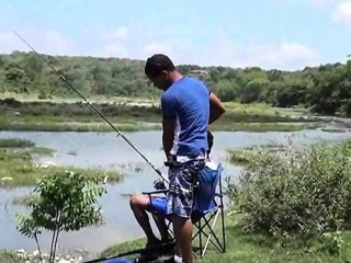 Gays (Gay),Outdoor (Gay),Reality (Gay),Twinks (Gay) Fishing turns into oral fun for two Latino twinks
