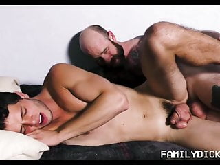 Bareback (Gay);Bear (Gay);Big Cock (Gay);Blowjob (Gay);Daddy (Gay);Masturbation (Gay);Webcam (Gay);HD Videos;Anal (Gay) Hot Jock Stepson Webcam With Bear Tattooed Stepdad Fucking