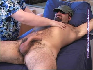 greatcanadianmale;bear;hairy;massage;blowjob;straight,Gay;Bear;Amateur Andy - First Contact