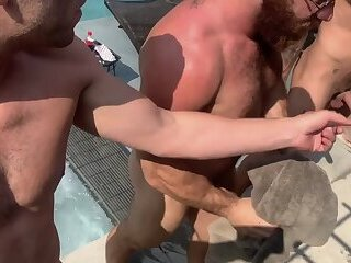 Anal,Big Cock,Body Builders,Fisting,Blowjob,Bareback,group sex,poolside sex,gay,HD,Jared,Chad Hammer 4 way Fist Fuck  Big C, Jared, Chad Hammer,   Scruffymuscle Part 1