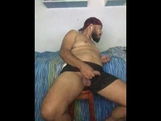 jerking-off;straight;pornohub;bear;latino,Latino;Solo Male;Gay;Bear;Straight Guys;Amateur;Handjob;Uncut;Tattooed Men Hetero masturbandose mientras ve porno