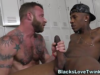 Anal,Amateur,Ebony,Interracial,gay Hunks face spunked by bbc