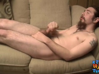 straightnakedthugs;masturbation;cumshot;bigdick;bigcock;bearded;cut;american;tattoo,Solo Male;Gay;Jock Bearded straight guy unleashing his load after a jerk off