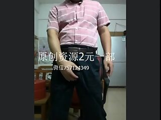 gay solo,gay asian,hand job,gay Daddy,gay Chinese suited daddy solo
