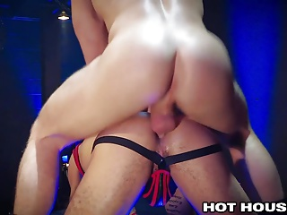 Men (Gay);Gay Porn (Gay);Blowjobs (Gay);Hunks (Gay);Sex Toys (Gay);Hot House Channel;HD Gays;Dick and Dildo;Gorgeous Ass;Gorgeous;Dildo Ass;Dick Ass HotHouse Gorgeous Guy Fucks Ass with Dildo and Dick