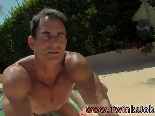 Anal,Outdoors,oral,outdoor,anal sex,public,pool,gay Daddy Poolside Prick Loving