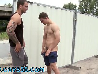 Outdoors,Tattoo,Blowjob,oral,outdoor,public,brunette, tattoos,gay Bulldozer That Ass!