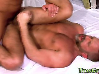 anal,body builders,oral,anal sex,hardcore,hunk,muscled,gay Macho guy spunked over