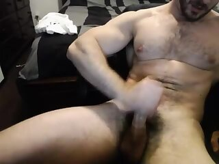 muscle,cam,hairy chest,gay Cute Cam Guy