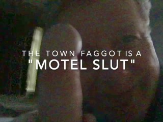 cocksucker;blowjob;huge-cum-facial;hotel-sex;motel-sex;public-whore;stewart;lexington-kentucky;dark-room-blowjob,Blowjob;Gay;Amateur;Mature;Cumshot Businessmen Often Call the Fag Stewart to Their Hotel Rooms to Fuck His Mouth or Ass