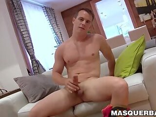 Masturbation,Big Cock,Fetish,muscle,stripping,hunk,big dick,stud,jock,athletic,abs,mask,firefighter,Masquerbate,gay Mature gay Pascal enjoys watching a firefighter strip naked