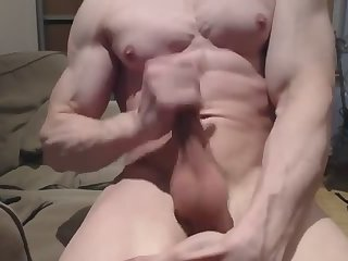 Amateur,Masturbation,Solo,studs,hung,muscled,gay muscle dream jack off sex cream flow (pt.three)