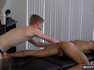 Hunks,Massage,muscle,gay Big dick gay anal sex with massage