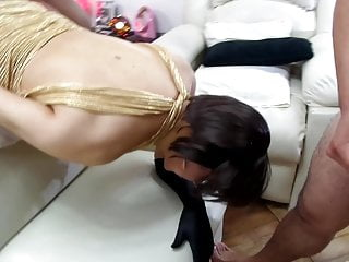 Man (Gay);Blowjob (Gay);Crossdresser (Gay);Gangbang (Gay);Group Sex (Gay);HD Videos;Anal (Gay) celebrating HALLOWEEN with extreme anal sex with three lover