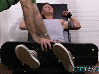 New gay porn tgp first time Sebastian Tied Up & Tickled