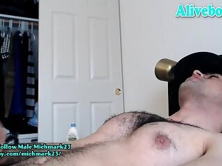 Cumshot,Amateur,Masturbation,Solo,webcam,Homemade,Pov,jocks,jerking,hairy chest,hairy ass,american boy,gay,HD american boy with hairy chest and ass jerking his cock and shooting big load