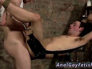 anal,bondage,domination,anal sex,ass fucking,hardcore,bdsm,dominating,gay Hanging there trussed to the sling he has no choice