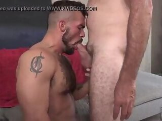 Amateur,Homemade,Blowjob,anal sex,daddy and boy,gay,Aarin Asker Derek Anthony and Aarin Asker (RM39 P2)