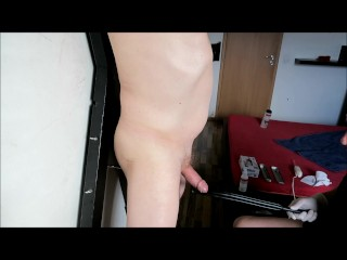 european;cbt;toys;urethral;sounding,Euro;Daddy;Gay;Reality;Rough Sex CBT &amp pumping of nipples