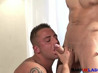 Anal,Cumshot,Big Cock,gay Ripped euro jock plowed on all fours