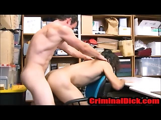 Uniform,Bareback,anal sex,hairy,police,hipster,cops,lean,gay Straight Hairy Hipster Thug fucked by the cops